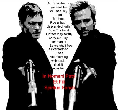 The Boondock Saints was very intriguing. It wasn't the normal action movie.