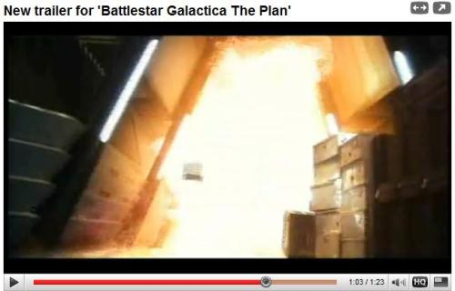 Battlestar Galactica: The Plan Trailer at YouTube