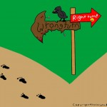 Right-turn-wrong-turn