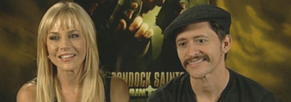 Interview with Boondock Saints II Actors Julie Benz and Clifton Collins, Jr.