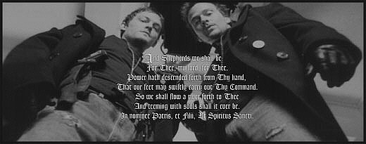 The Boondock Saints Prayer Poster Giveaway Pt 1