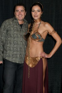 Adrianne will join the annual Slave Leia group photo at 1:00 and come straight to our panel at 2:00.