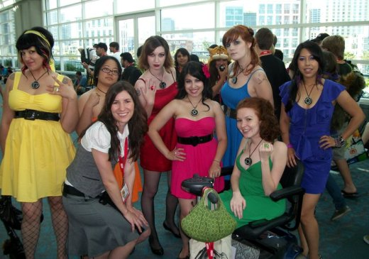Comic-Con Angels: Why Settle for 3?