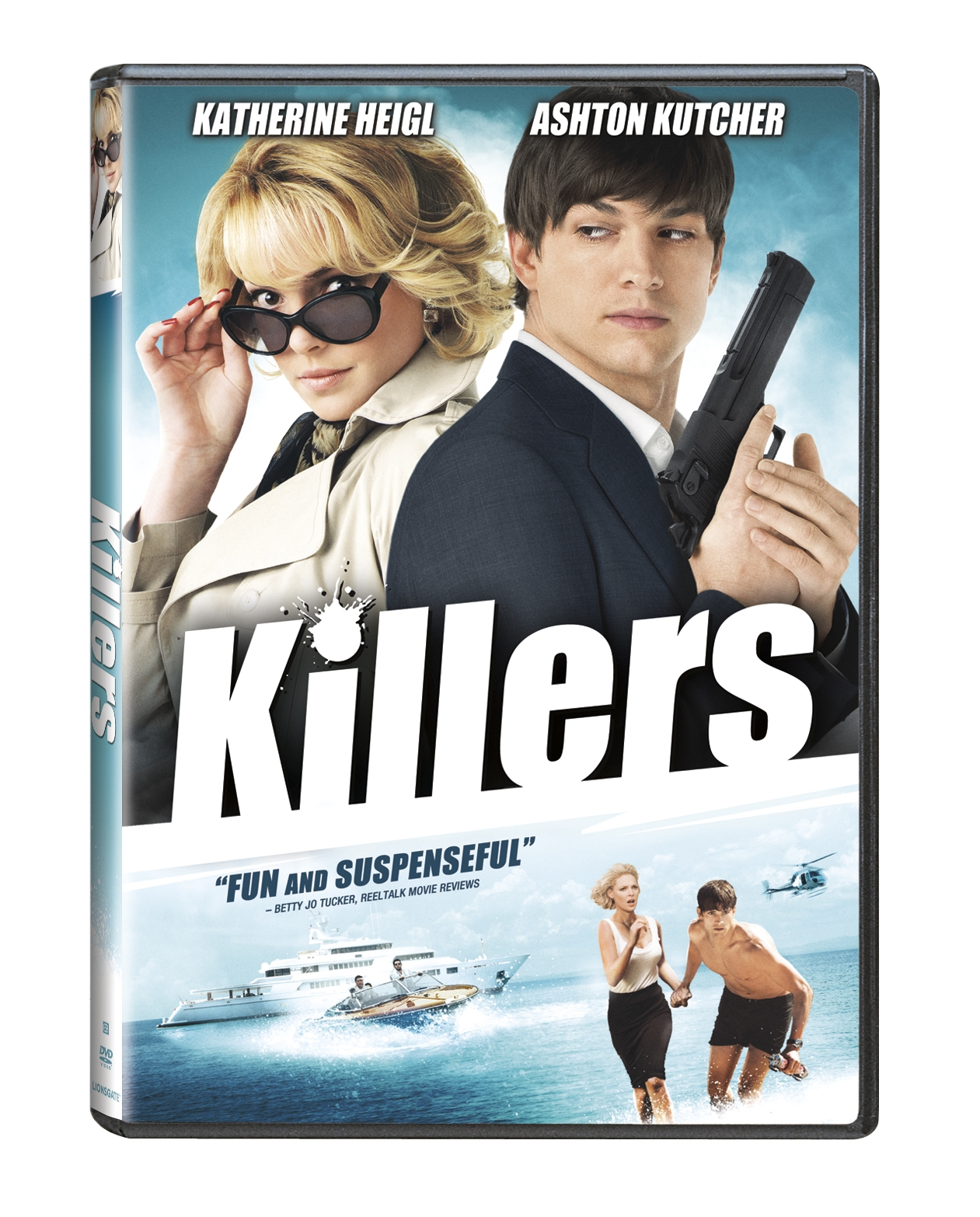 Action Rom Coms – with Giveaway: Lionsgate DVD Killers (Katherine Heigl, Ashton Kutcher)
