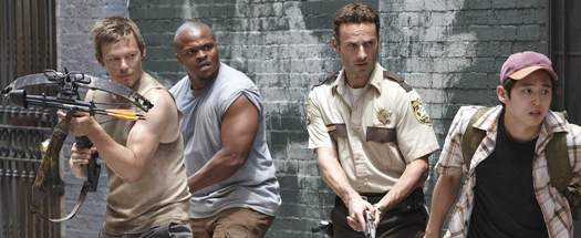 The Walking Dead Interview: IronE Singleton (T-Dog) Fighting Zombies in 120 Degrees