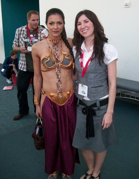 SFX Magazine Interview by Bonnie Burton: Cosplay or Can't Play – Adrianne Curry, Katrina Hill, Victoria Schmidt
