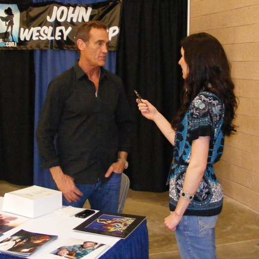 Interview: John Wesley Shipp (The Flash) Not in Pajamas