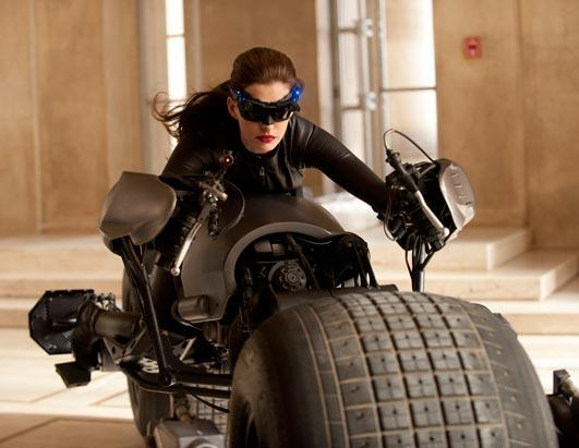 First Look: Anne Hathaway as Catwoman Selina Kyle!