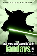 Star Wars Fan Days This Weekend!
