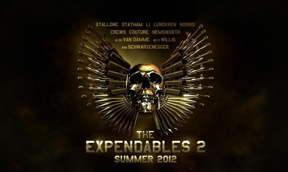 New Trailer For The Expendables 2 2012 Action Flick Chick