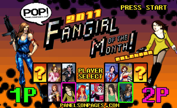 PoP! 2011 Fangirl of the Month Calendar