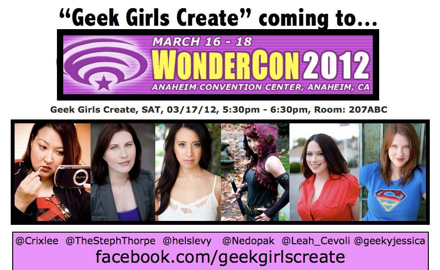 Geek Girls Create – What Would YOUR Comic-Con Panel Cover?