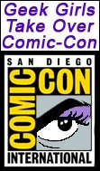 Comic-Con: Geek Girls vs. Sly Stallone, Bruce Willis, Michelle Rodriguez, Joss Whedon, Morgan Freeman, & Angelina Jolie!