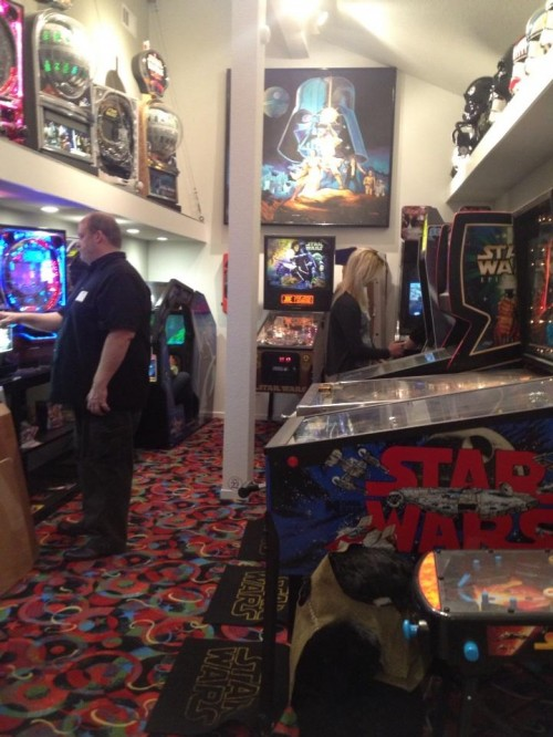 @ActionChick: To top off a great tour of @RanchoObiWan, we get to play arcade games