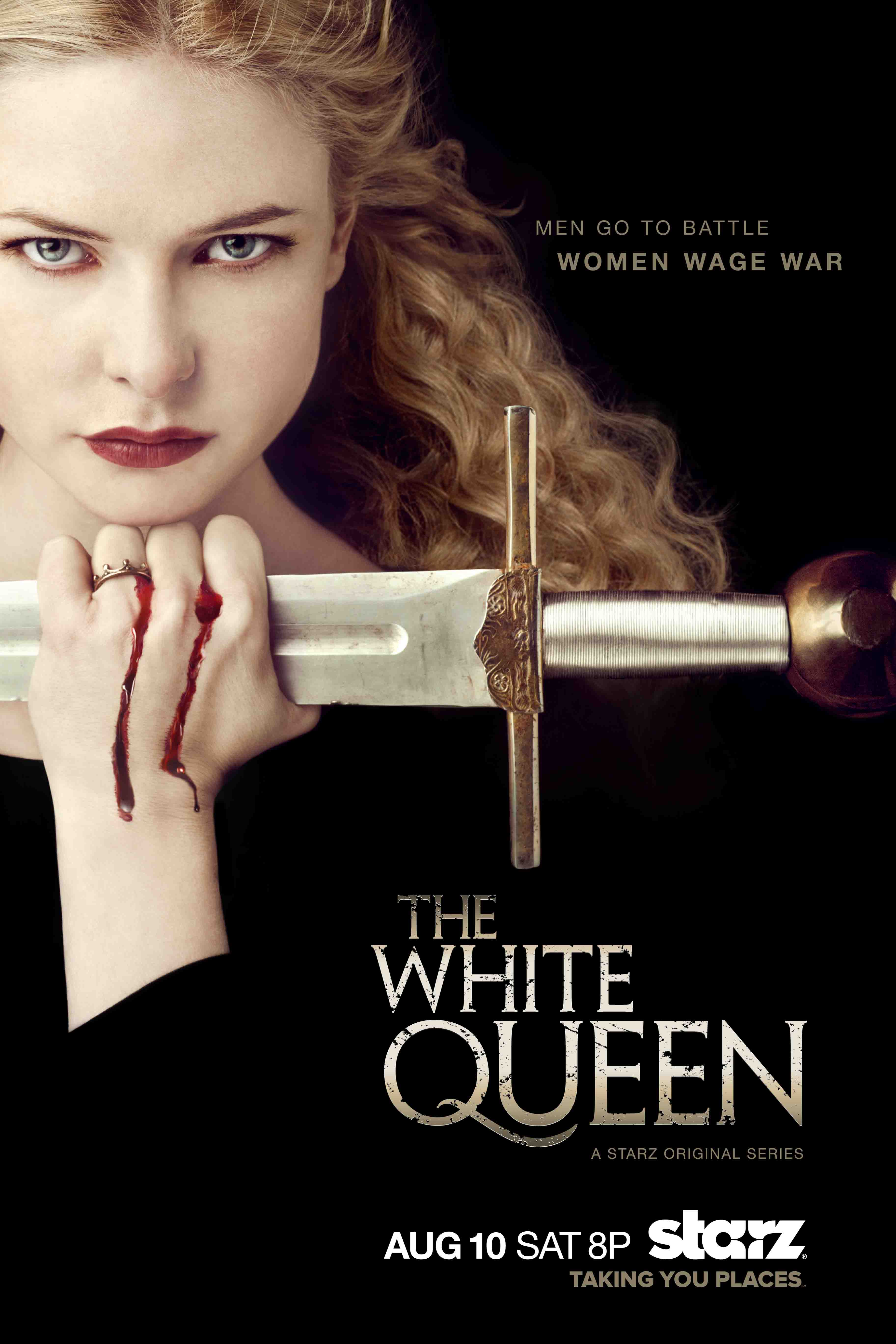 5 reasons to watch starz s the white queen action flick chick. Black Bedroom Furniture Sets. Home Design Ideas