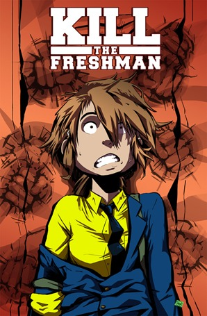 "Help Kickstart ""Kill the Freshman,"" a Girl-Powered Graphic Novel"
