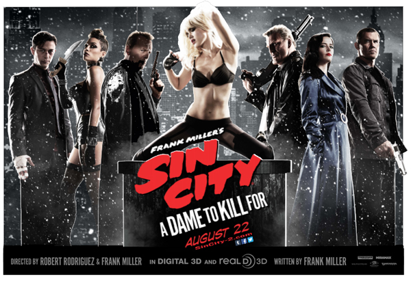Newest Trailers for Sin City, The Hunger Games, and The Maze Runner