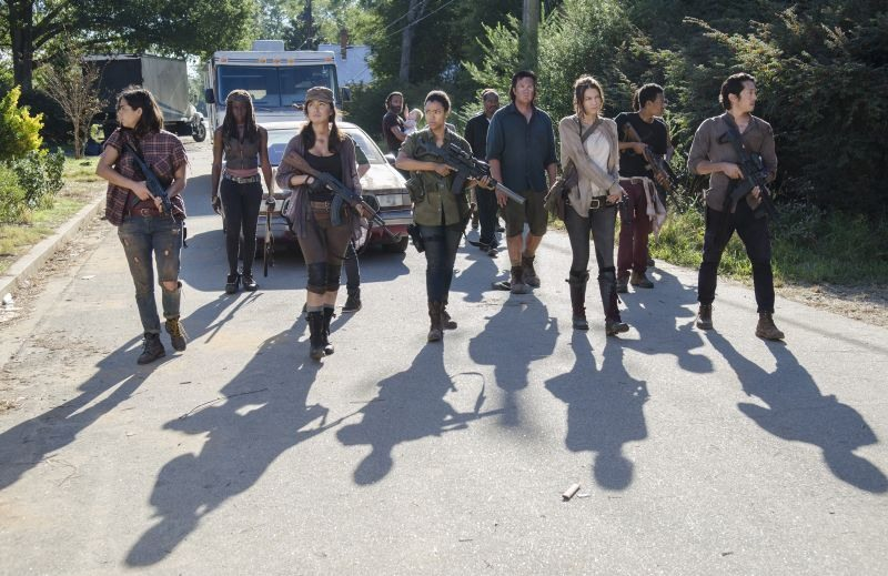 The Walking Dead 5-12: Treat Yo' Self